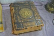 Holy Bible 1611 1st Edition Genuine Leather King James Version Circa 1870