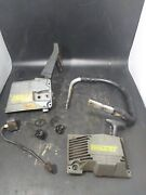 Oem Mcculloch Titan 50 And 57 Chainsaw Clutch / Side Cover Coil Pull Cord Starter