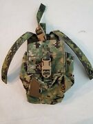 Eagle Industries Aor2 Radio Pouch W/ Battery Pocket Rp-mbitr/bat-w/p-ms-5a2 New