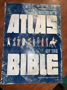 Vintage Students Atlas Of The Bible American Map Corporation Softcover