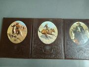 3 Time Life Books The Old West Series The Cowboys, Scouts And Gunfighters