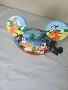 Hula Mickey Mouse Ears Hat Disney Parks Limited Release Artist Series Patty