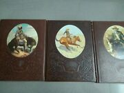 3 Time Life Books The Old West Series The Trailblazers, Cowboys And Gunfighters