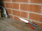 1900s Vintage 4 3/4 Blade Henry Sears And Sons Fine Carbon Paring Knife Usa