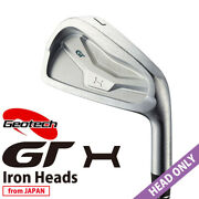 Head Only 2021 Geotech Golf Japan Gt-x Forged Cnc Iron 6,7,8,9,pw Iron Heads