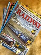 Collection Of 32 Issues Of , The Railway Magazine , Inc Free Inserts Etc ...