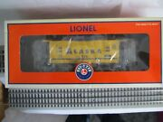 Lionel Alaska 1084 Yellow And Blue Square Window Lighted Caboose