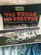 2013 Hess Toy Truck And Tractor-new In Box-mint With Original Bag