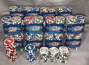 Camel Casino Poker Chips Las Vegas Nevada 16 Sealed Pkg/50 And 100 Loose 3 Colors