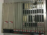 Fidia Control Cnc30 Copymill Rack Chassis Fnc795 Complete W/ Cards