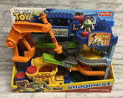 Disney Fisher Price Imaginext Toy Story Tri-county Landfill Figures Vehicles Lot