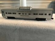 Lionel Lines Silver Range Usa Ny Observation Car 2532 0 Scale