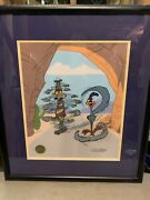 Turnabout Is Fair Play - Signed/numbered W Coa - Professionally Framed And Matted
