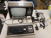 Radio Shack Trs-80 Level 1 4k Ram - Includes Tape Drive And Programs