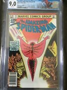 Amazing Spider-man Annual 16 - Newsstand Canadian Price 1.25 Wp 1st M. Rambeau
