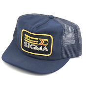 Vtg Shakespeare Sigma Patch Fishing Reels Lures Snapback Dad Trucker Hat Cap G