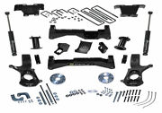 Superlift 8 Lift Kit W/ Control Arms And Rear Shocks For 2007-2016 Gm 1500