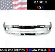 New Usa Made Chrome Front Bumper For 2009-2012 Ram 1500 Ships Today