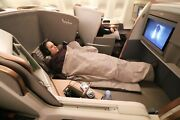 Singapore Airlines Travel Duvet Blanket First Class