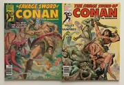 Savage Sword Of Conan 37 And 38 Marvel 1979 2 X Bronze Age Issues.