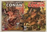 Savage Sword Of Conan 49 And 50 Marvel 1980 2 X Bronze Age Issues.