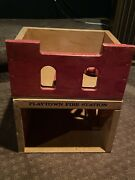 Vintage Playtown Fire Station
