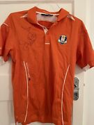 Ian Poulter Autographed Ryder Cup Miracle At Medinah Tues Practice Shirt Rare