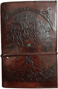 Refillable Leather Journal Writing Notebook Antique Handmade Leather Bound