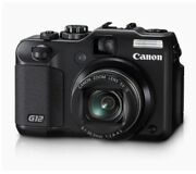 Canon G12 10 Mp Digital Camera, 5x Optical Image Stabilized Zoom, No Battery