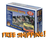 Woodland Scenics River Pass, 15 Structures And 200 Details, Ho - Free Shipping