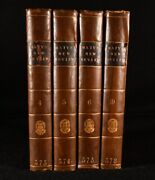 1783-1786 4vol A New Review With Literary Curiosities Scarce Periodical