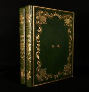 1836 2vol La Suisse Pittoresque W. H. Bartlett Illustrated First Edition Thus