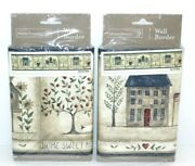 Home Trends Wallpaper Border Home Sweet Home 5 Yards Each 7 High Birdhouse Dove