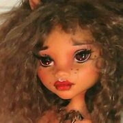 Ooak Monster High Clawdeen Wolf Collector Doll Face Up And Body Modifications Jsal