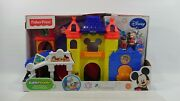 Fisher Price Little People Magic Of Disney Day At Disney Mickey Playset