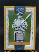 2016 Prime Cuts Babe Ruth Game Used Jersey 3/5 Jersey Wow Yankees
