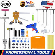 Pdr Car Paintless Dent Puller Rod Hammer Lifter Tap Down Repair Tool Removal Kit