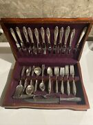 Wow Vintage Antique International Wallace Prelude 78pc Set In Box