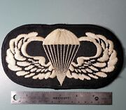 Vietnam Era - Airborne Special Forces Jump Wing Patch - Giant Oversized