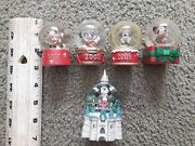 Mini Mickey Mouse Snow Globes Collection