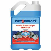Wet And Forget Mould Algae And Lichen Moss Dirt Removal 5l Concentrate Outdoor New