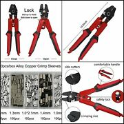 Fishing Crimping Pliers Heavy Duty Stainless Steel Wire Rope Crimping