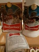 2020 Budweiser Holiday Stein 41st Anniversary Edition Brewery Lights New In Box
