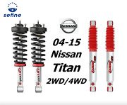 Rancho Front Quicklift Struts+rs9000xl Rear Shocks For 04-15 Nissan Titan 2/4wd