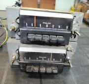 68 1968 Oem Mustang Cougar Philco Am Radio Core For Parts Not Working Pair Of 2