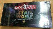 Factory Sealed Star Wars Limited Collector's Edition Monopoly 1996 Board Games