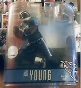 Mcfarlane Nfl Series 15 Vince Young Variant And Tennessee Titans Action Figure
