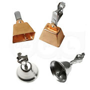 Fishing Chrome Liberty Bell Eagle Clamp Clip Copper Bell Bite Alarm Lot