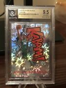 18-19 Crown Royale Kaboom 5 Giannis Antetokounmpo Insert Card Case Hit Bgs 9.5