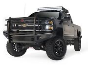 Fab Fours Ch11-s2760-1 Black Steel Front Ranch Bumper